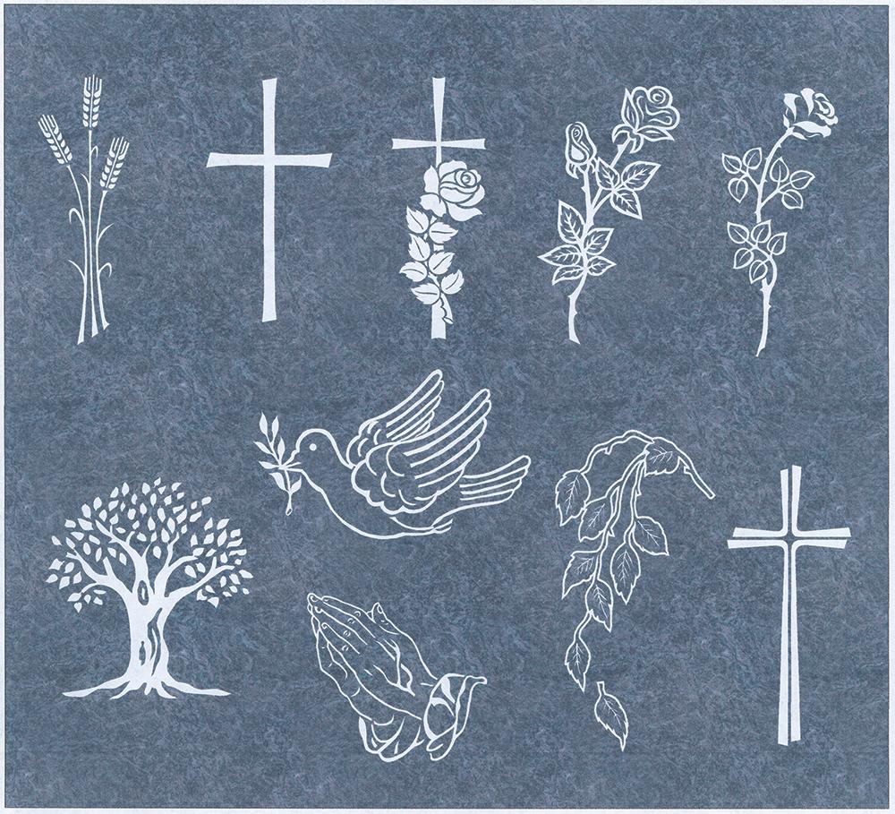 Stechemesser Natursteine Grabsteine Schriften Ornamente